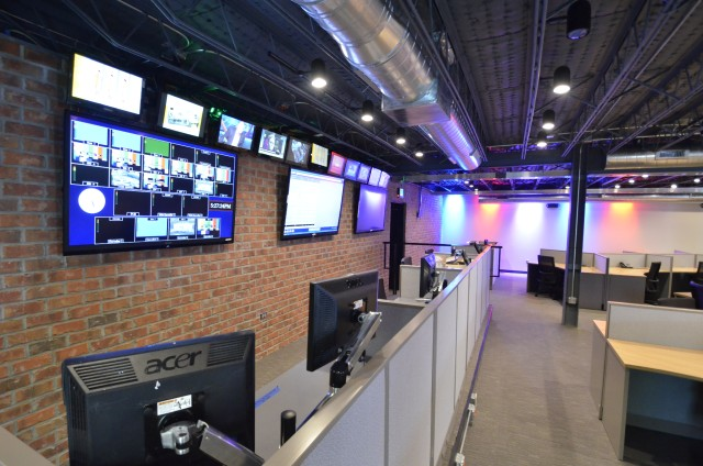 Wis News Room Renovation Columbia Sc Commercial A